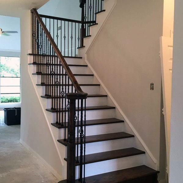 Top 70 Best Under Stairs Ideas: Top 70 Best Stair Railing Ideas