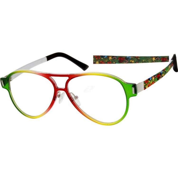 Full rimmed frames made of flexible plastic, adjustable silicone ...