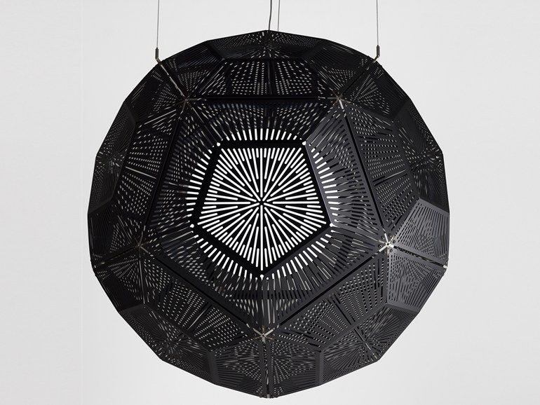 Aluminium pendant lamp BALL by Tom Dixon | design Tom Dixon