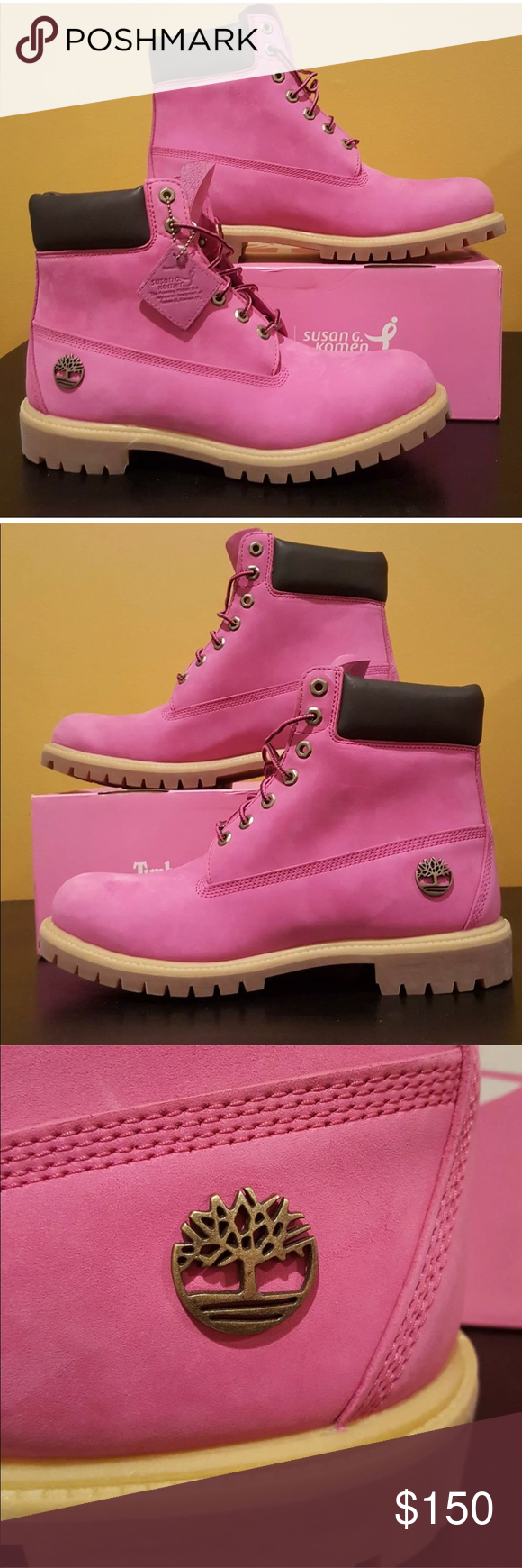 f44770aad8d7 Timberland has teamed up with the Susan G. Komen foundation in honor of Breast  Cancer Awareness to kickoff ...