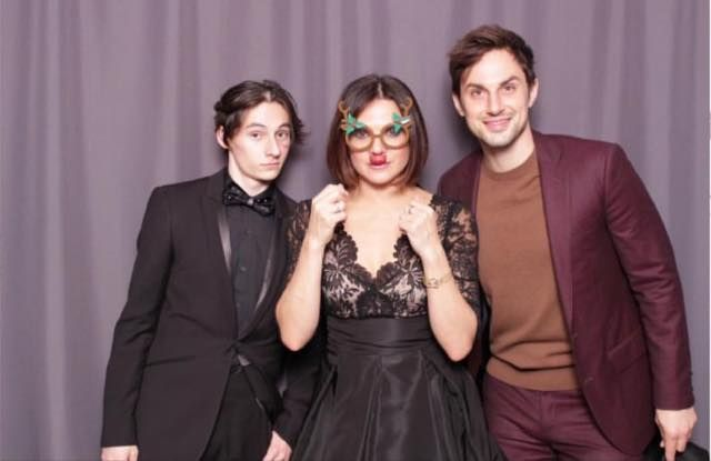 Jared Gilmore Lana Parrilla Andrew J West At The 2017 Ouat