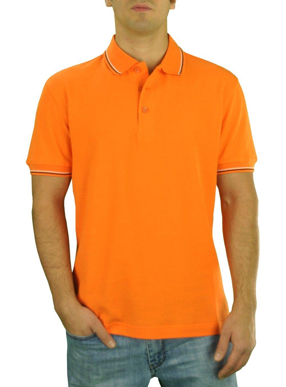60 Cotton 40 Poly, Fashion color designed polo shirt
