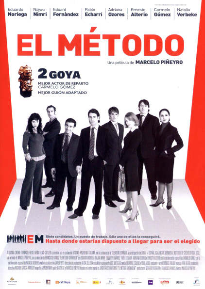 """El largometraje """"El Método"""" (Marcelo Piñeyro, 2005) presenta en toda su crudeza el mundo del empleo y las entrevistas de trabajo. CINENCLASE: Cine fórum mayo: empleo y proposiciones indecentes..."""
