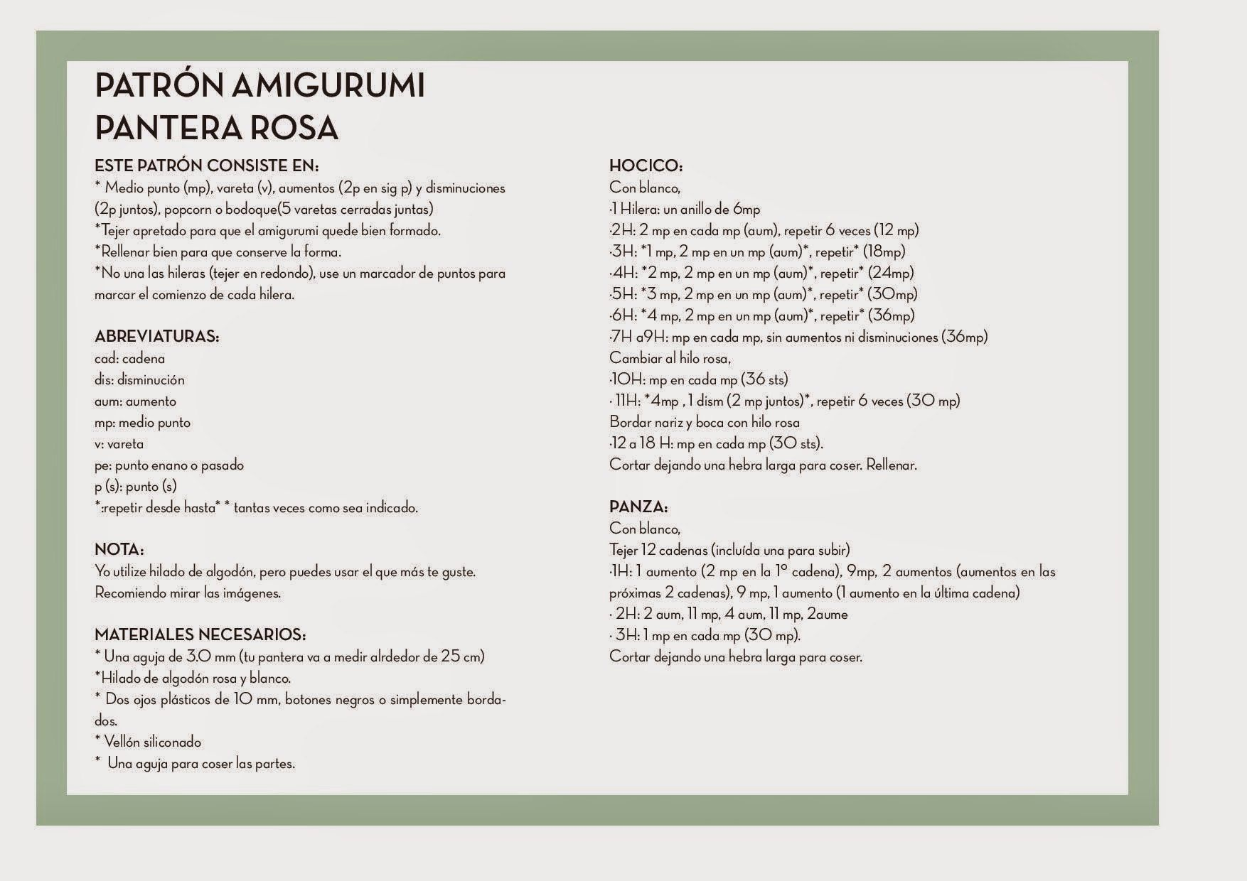 Imágenes en publicaciones de la comunidad | patrones amigurumis ...