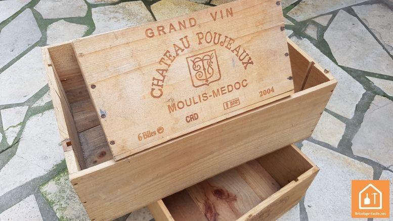 ou trouver des caisses en bois palettes reclaimed pallet en 2019 caisse a vin caisse