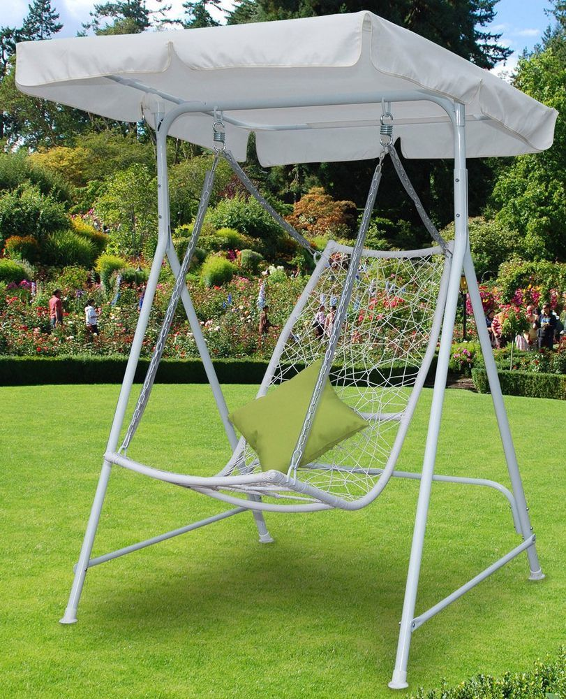 Details About Sun Lounger Canopy Outdoor Swing Seat Sunshade Chair Garden  Patio Furniture