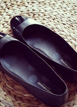 Kaufe meinen Artikel bei #Kleiderkreisel http://www.kleiderkreisel.de/damenschuhe/ballerinas/115671782-vagabond-ballerinas-fimi-39-black-leder-clean-chic-minimalism