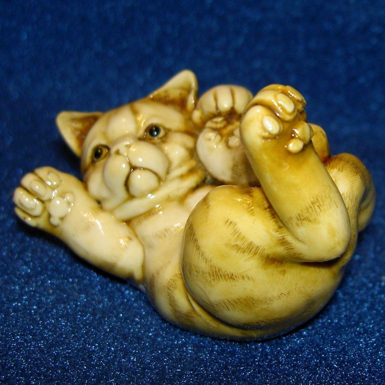 Harmony Kingdom MP's Fragile World Kitten Cat Made In