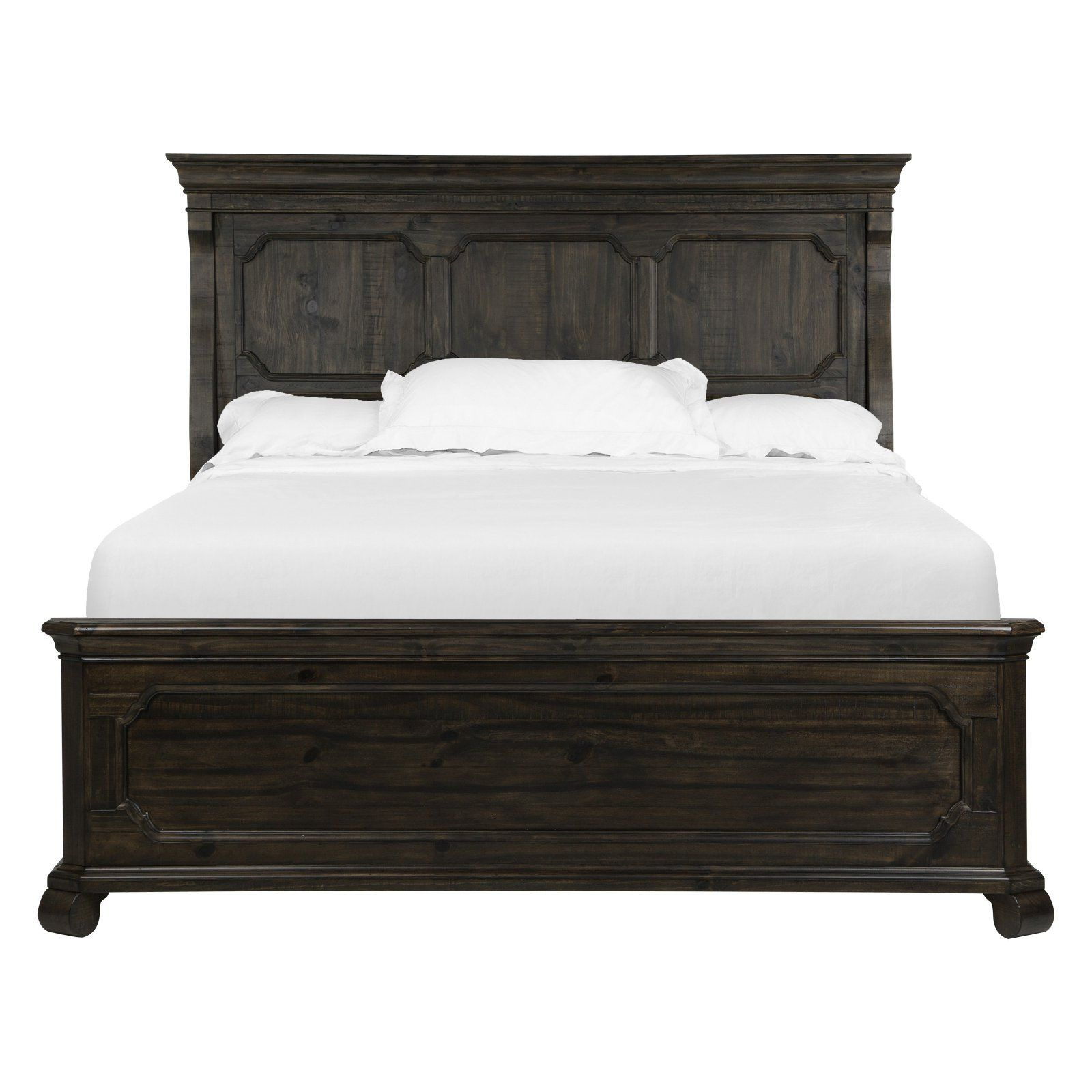 Magnussen Bellamy Traditional Peppercorn Panel Bed, Size