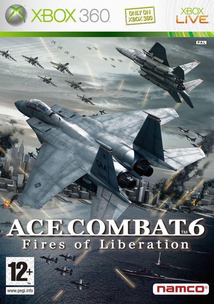 ACE COMBAT 6   FIRES OF LIBERATION  XBOX 360 ITALIANO!!!!!