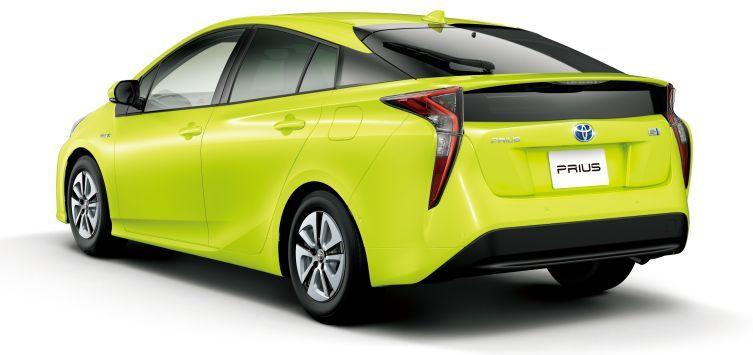 Prius And Its Cool New Colour Option Toyota Prius Toyota Color