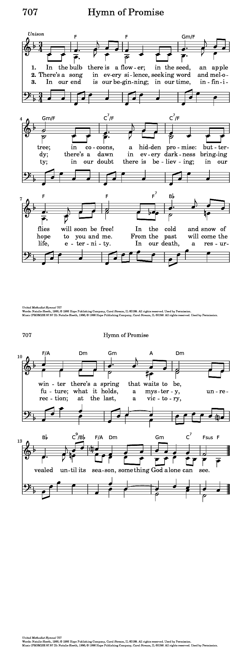 Hymn Of Promise Hymnary Org Music Christian Music