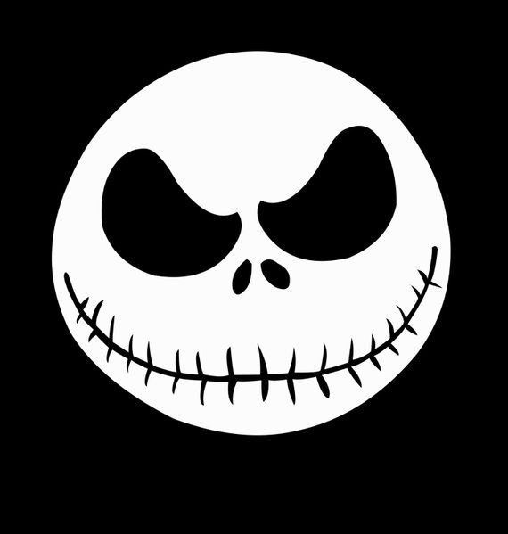 6 3 Jack Skellington Svg Jpeg Instant Digital Download