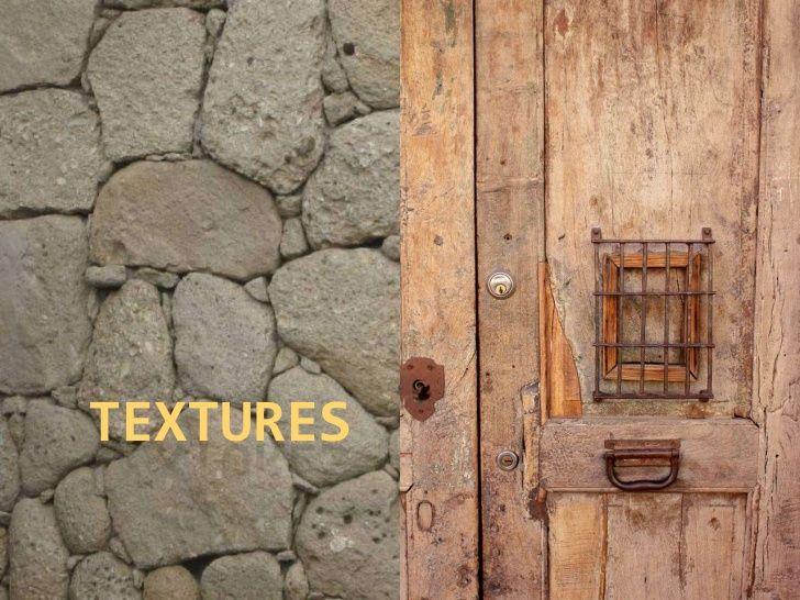 Textures by Dolors Cubí via slideshare