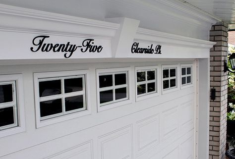 I So Love This I Saw This On A Home As I Was Driving And Have Loved It Ever Since Improve Your House Lo Custom House Numbers House Address Sign House