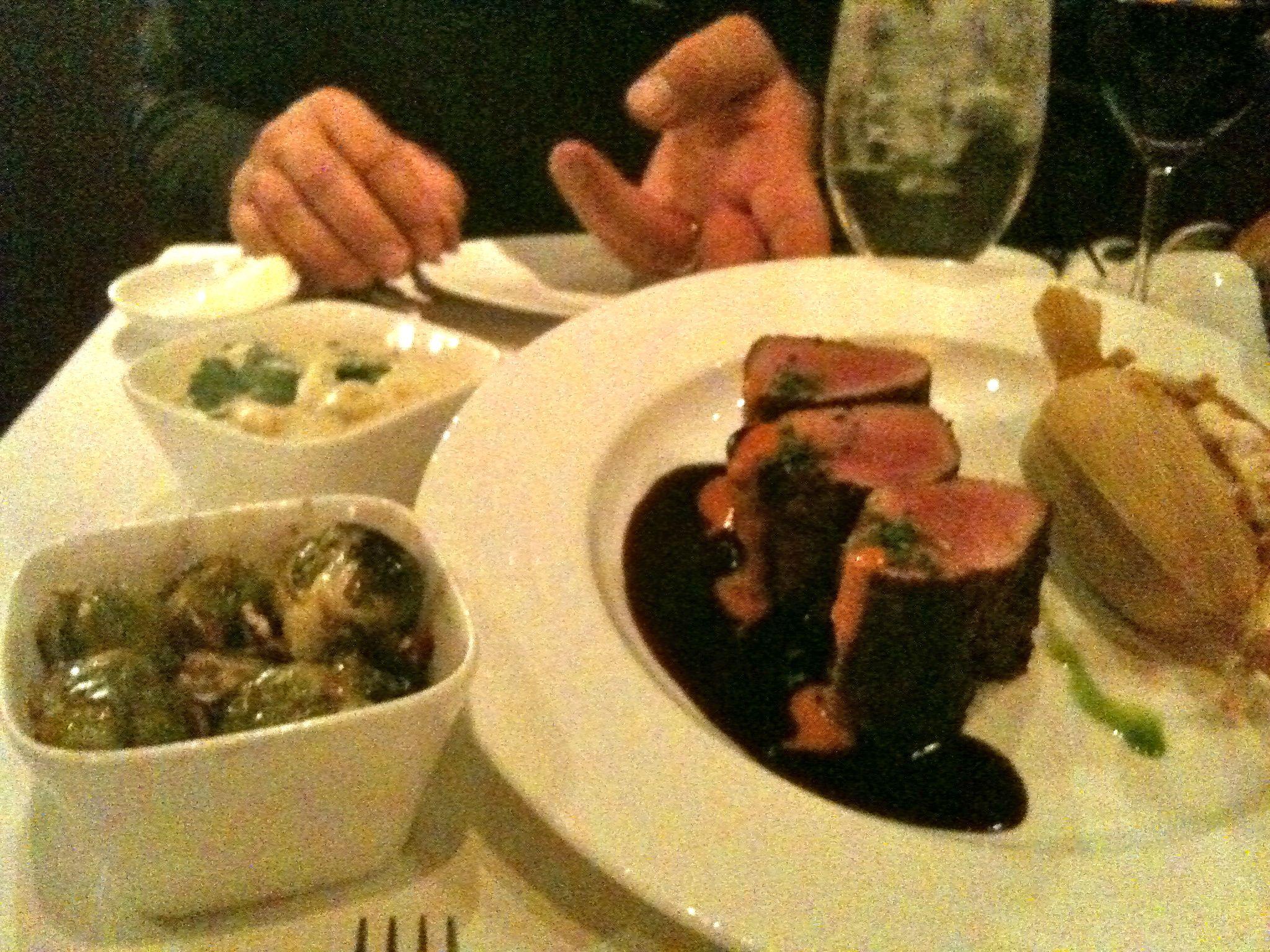 Bobby Flay's Mesa Grill in Las Vegasmmmmm! The Pork