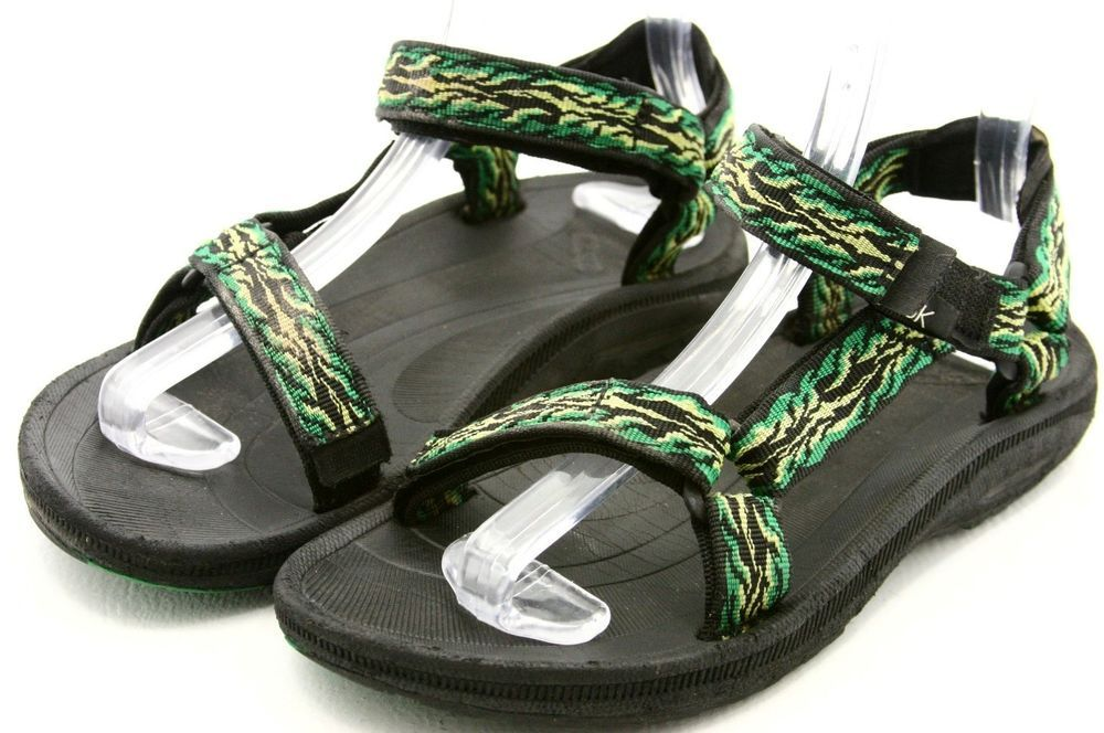 1c1bbdf1a Teva Hurricane Sandals youth or womens Size 6 36 Green river sport water  shoes  Teva  SportSandals  eBay
