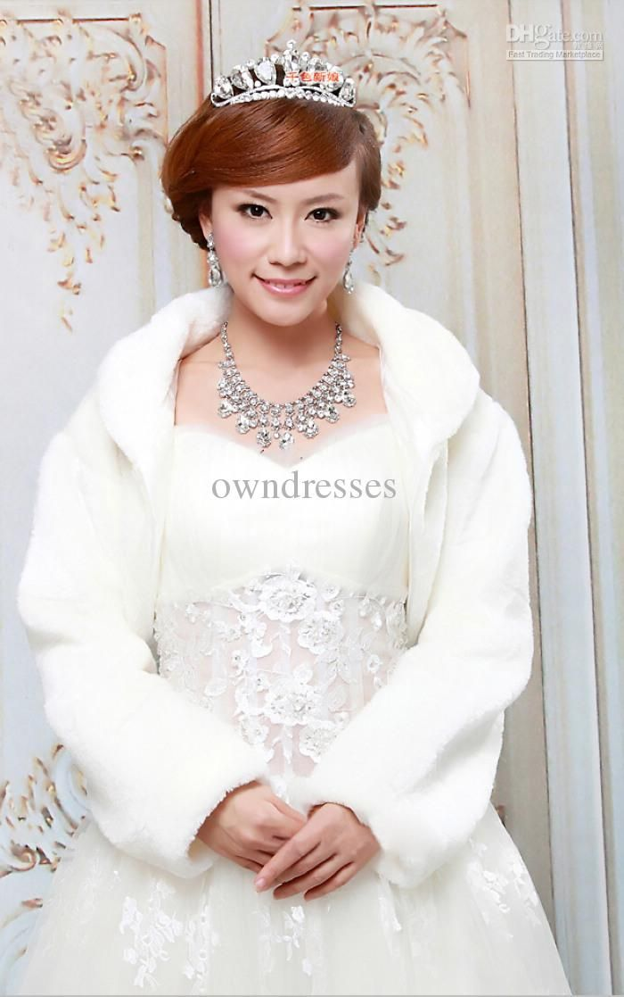 Cute Winter Wedding Jacket Would Be Adorable For Bridesmaid Dresses