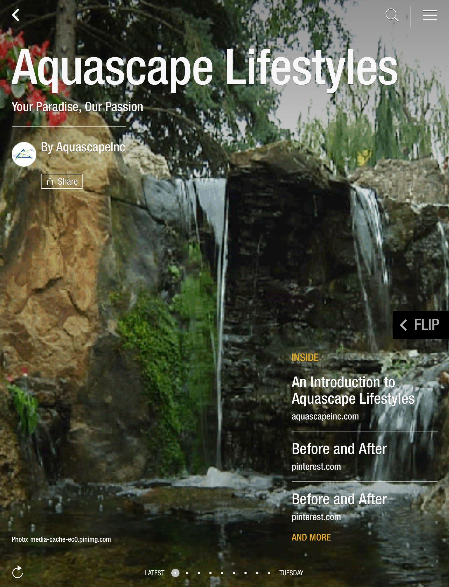 NEW! Aquascape Lifestyles Flipboard Magazine | Aquascape ...