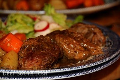 Deep South Dish: Old Fashioned Pot Roast