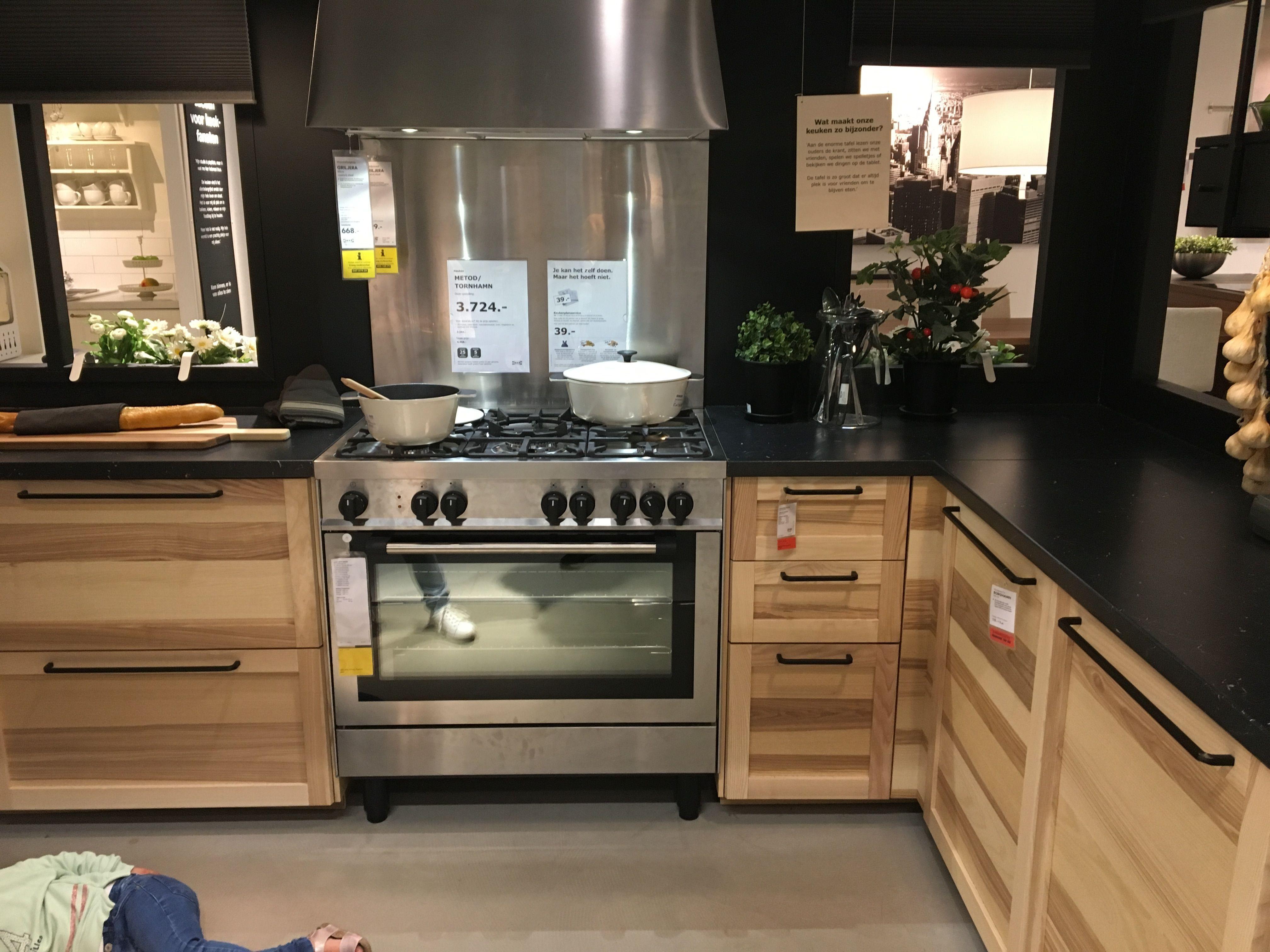 Torhamn Kitchen Ikea Haarlem Avec Images Amenagement Cuisine