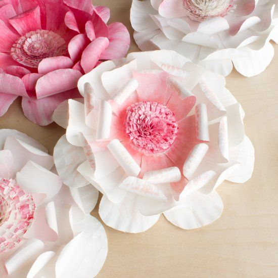 Learn how to make flowers out of paper plates thrifty bridal shower learn how to make flowers out of paper plates thrifty bridal shower or spring party decor idea mightylinksfo