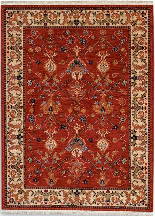 Karastan English Manor 2120 William Morris Red 00510