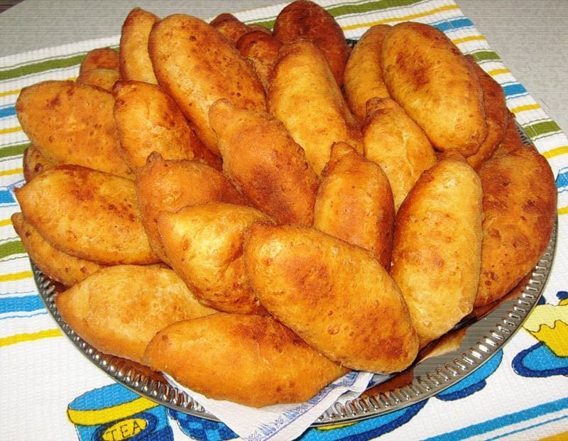 Пирожки с картошкой быстро