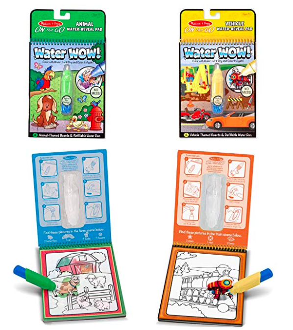 Water Wow Coloring Books by Melissa and Doug are perfect for ...