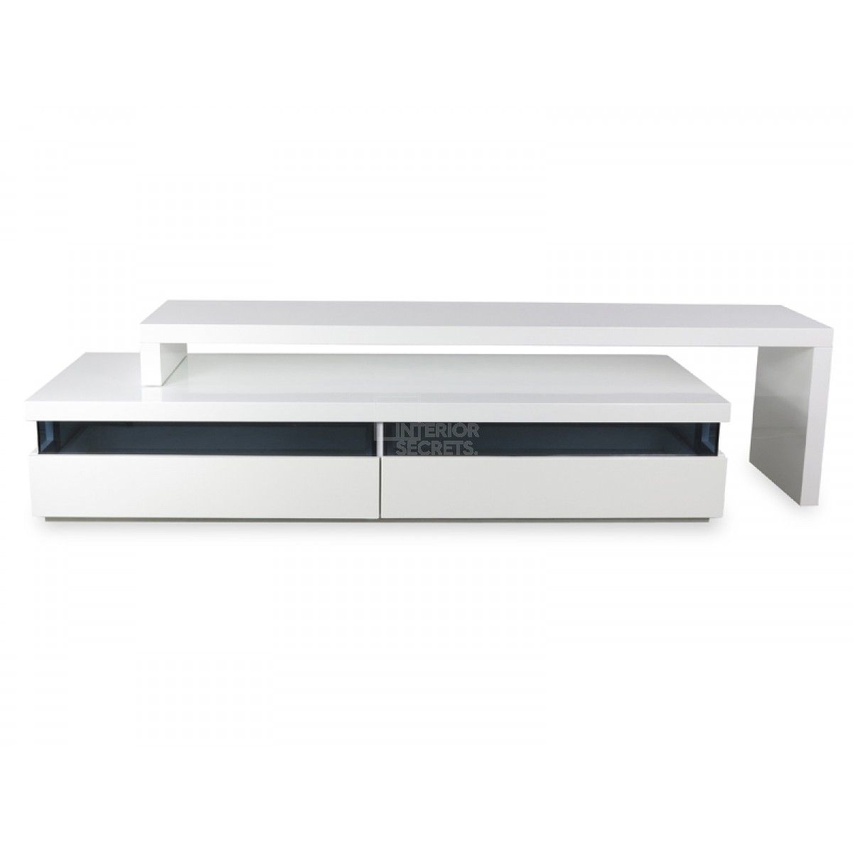 Entertainment Units Online Maze Tv Entertainment Unit Lowline High Gloss White