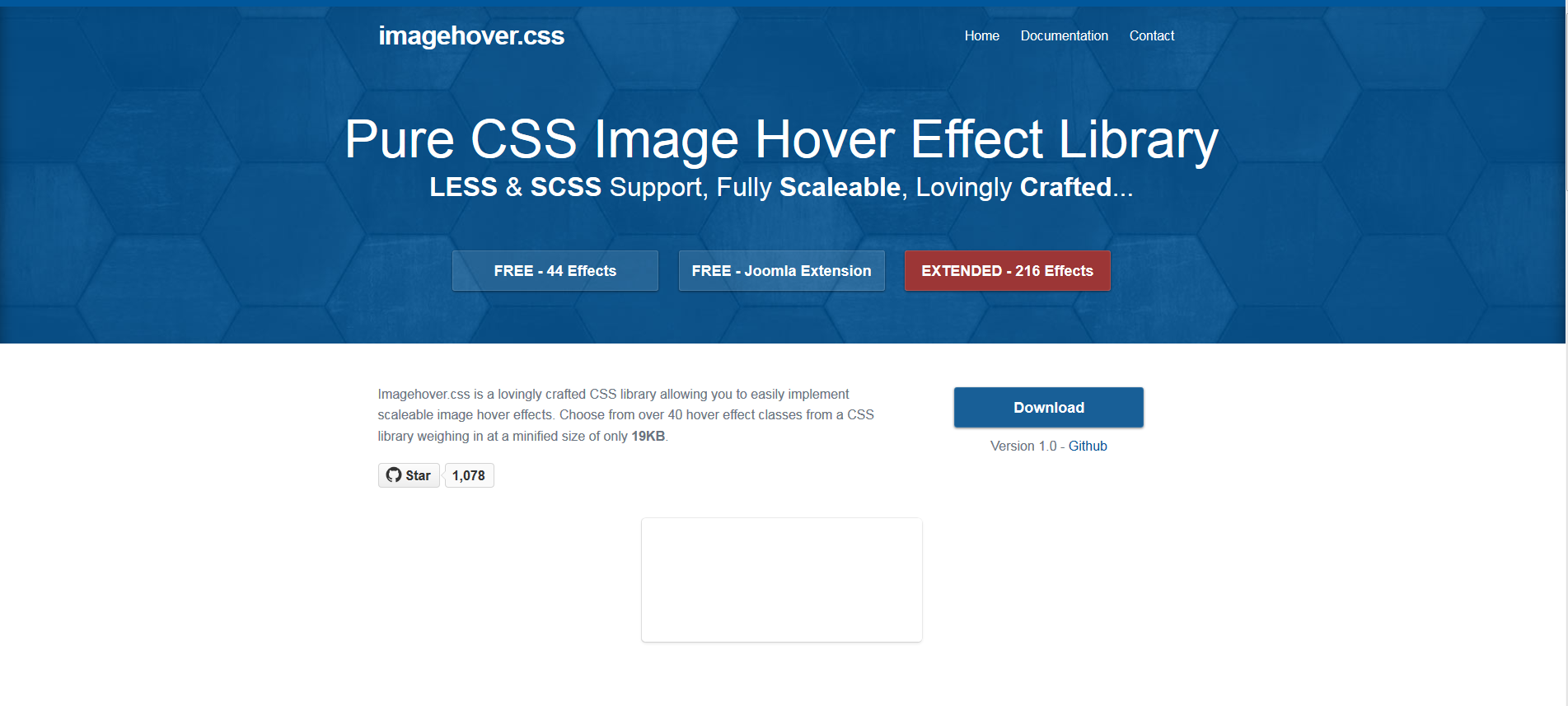 Pure CSS Image Effect Library (44 Free) Pure products