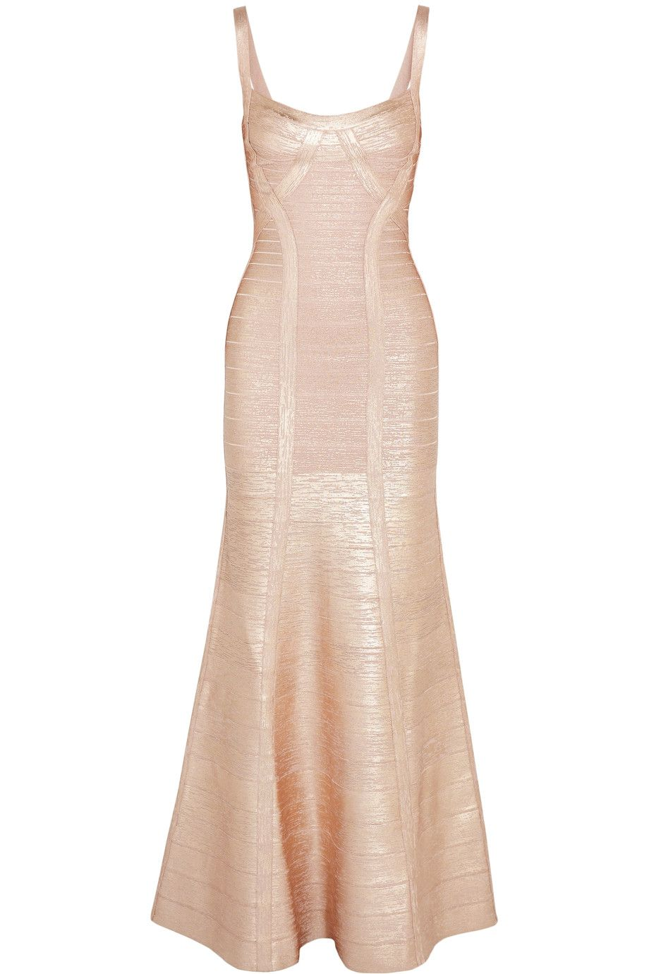 f3fcd4ca43b7 HERVE LEGER Metallic bandage gown.  herveleger  cloth  gown