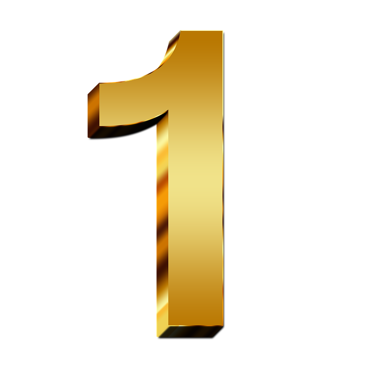 Free Image On Pixabay Pay Gold One Number Digit 3d Gold Number 10 Things Gold