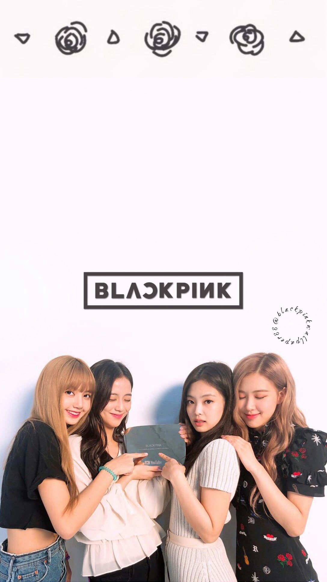 Pin De Jugu Em Blackpink Wallpaper Blakpink Blackpink
