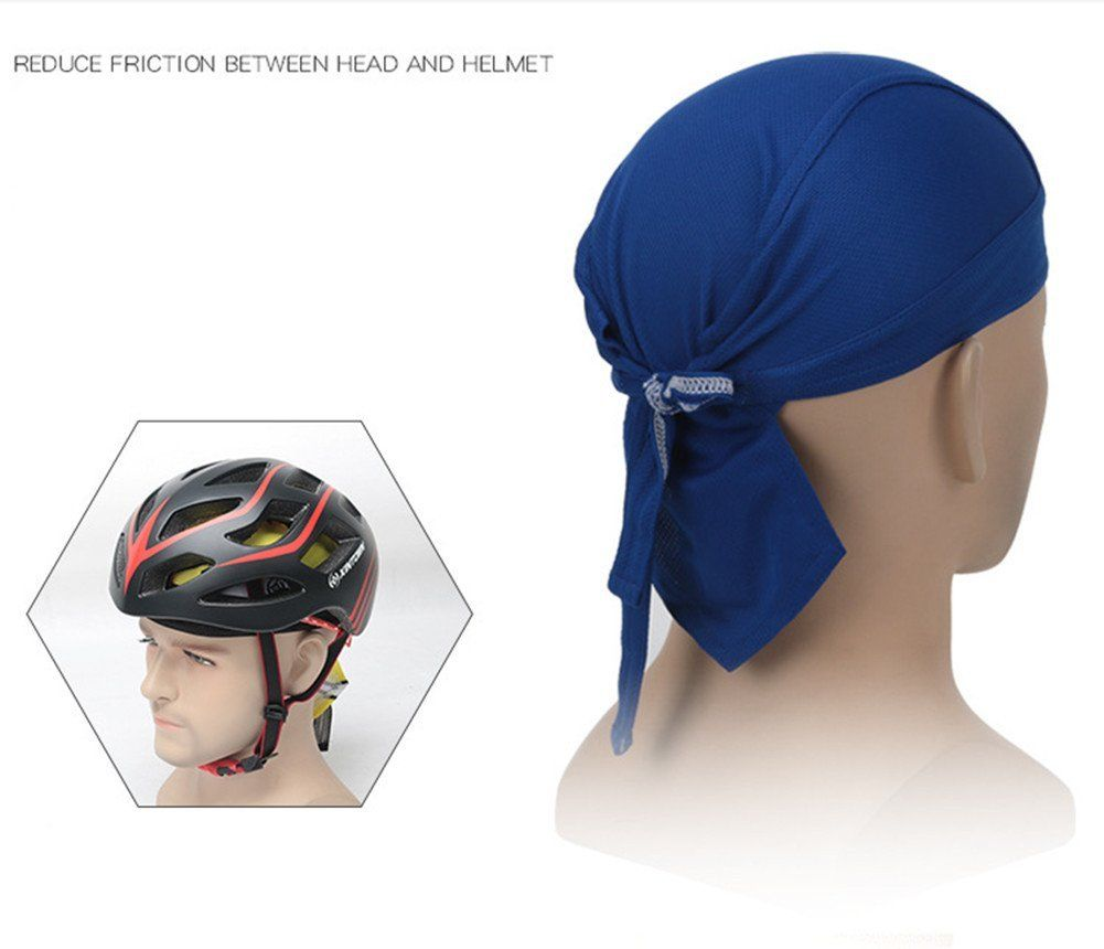 Amazon Com Yahuipeius Cycling Cap Bicycle Bandana Skull Cap Pirate Headband Bike Headwear Scarf Head Wraps Wicking Head Co Hat Summer Pirate Hats Cycling Cap