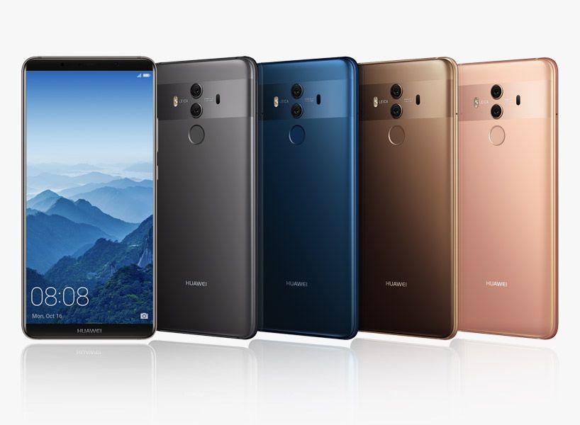Huawei Mate 10 Pro Delivers Truly Intelligent And Fast Performance Best Smartphone Huawei Huawei Mate