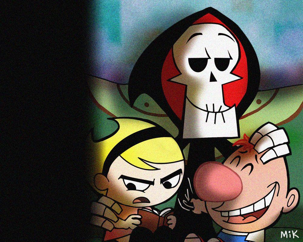Grim Wallpaper By Mikmix Billy Y Mandy Dibujos Dibujos Animados