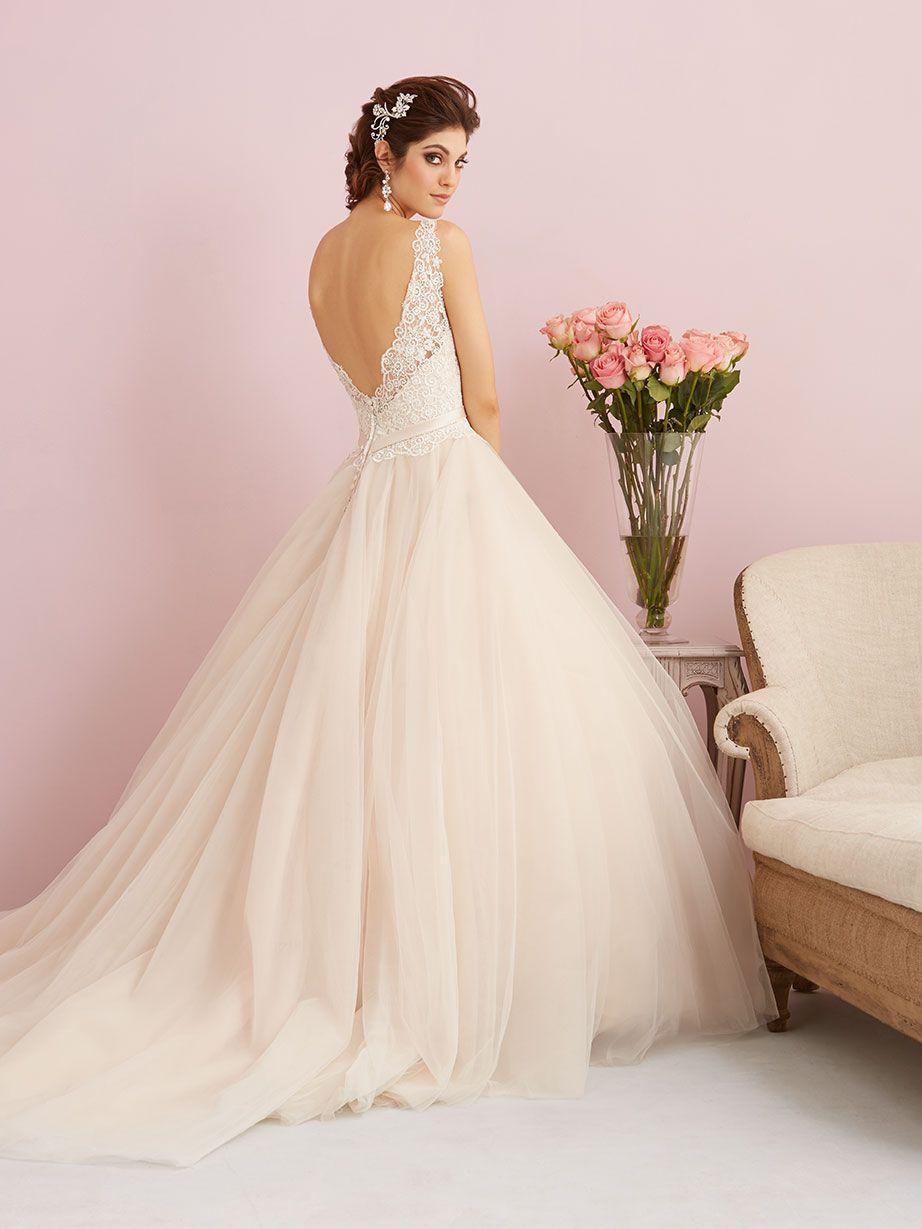 Allure Romance 2750 (Back view) Debra\'s Bridal Shop at the Avenues ...