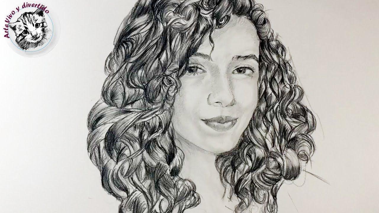 Como Dibujar Pelo Realista Rizado Como Dibujar Retratos Y Rostros Youtube Como Pintar Cabello Dibujar Pelo Dibujar Cabello