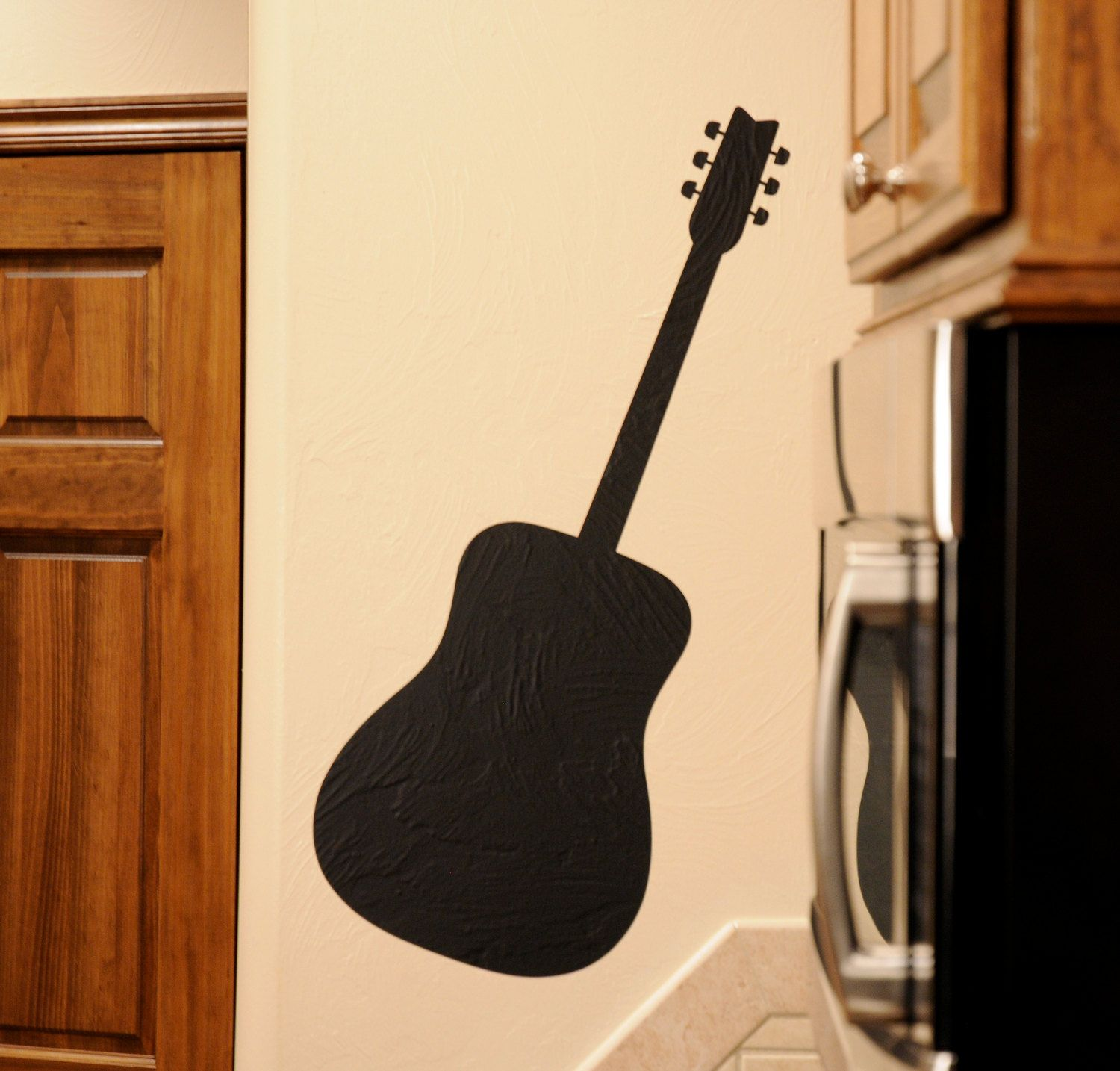 Wonderful Guitar Wall Decor Photos - The Wall Art Decorations ...