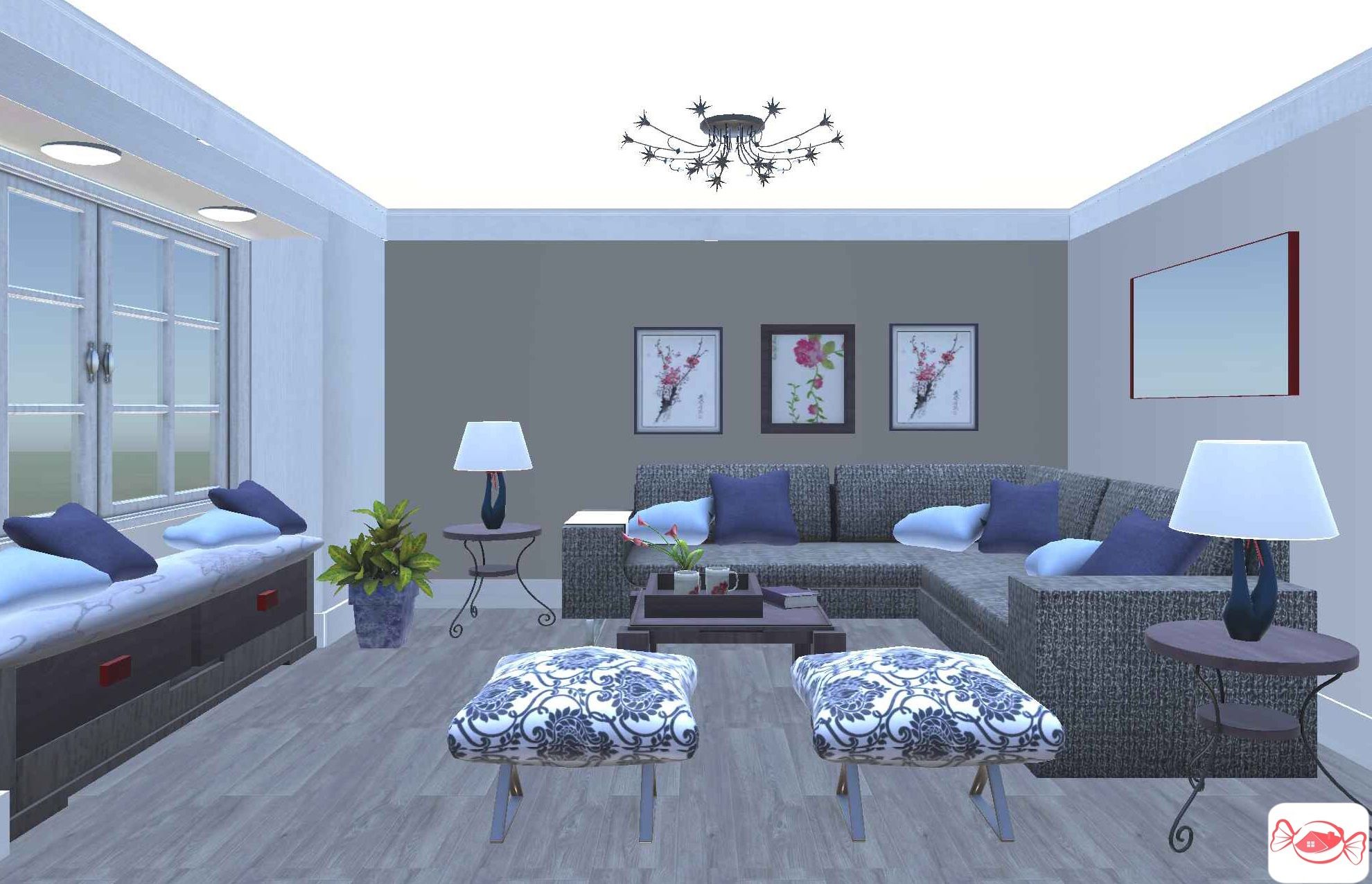 Casual Living Created With Home Sweet Home 3d App Design Your