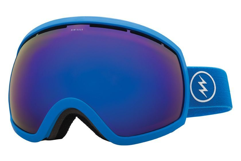 Electric - EG2 Royal Blue Goggles, Brose/Blue Chrome Lenses