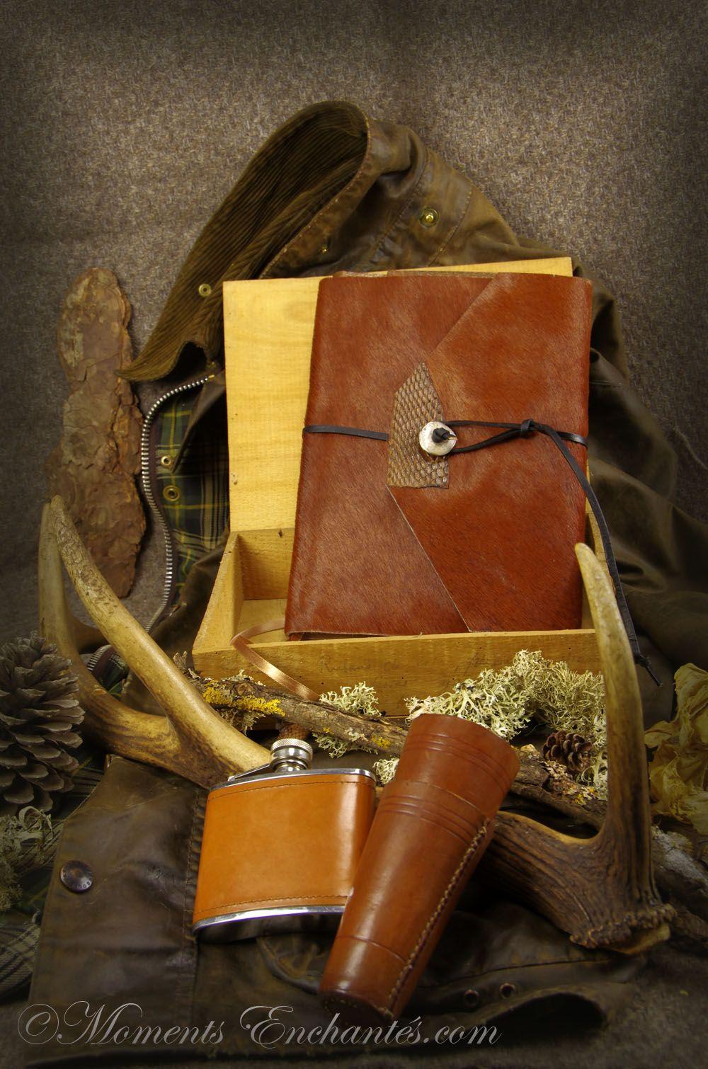 Carnet de chasse, tableau de chasse, livre d'or de chasse, répertoire de chasse, album photo de chasse, création Moments Enchantés chasse Création Française #madeinFrance