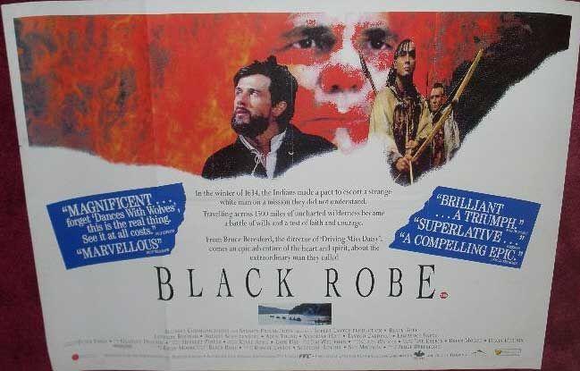 ... Quad Film Posters) > BL - BQ (UK Quad Film Posters) > BLACK ROBE 1991