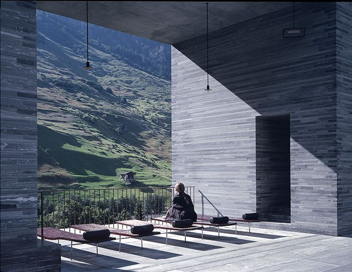 peter zumthor thermes de vals ouverture culturelle pinterest thermes de vals peter. Black Bedroom Furniture Sets. Home Design Ideas