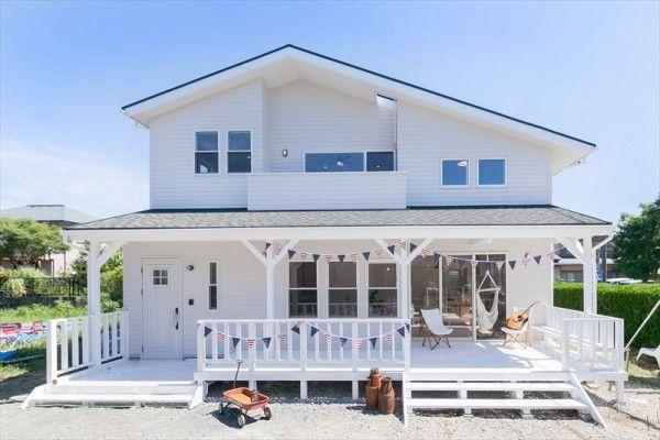 憧れの西海岸スタイルの家 Select工房 住宅 外観 西海岸スタイル