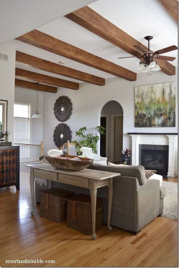 Feature Friday Scout And Nimble Beams Living Room Cozy Living