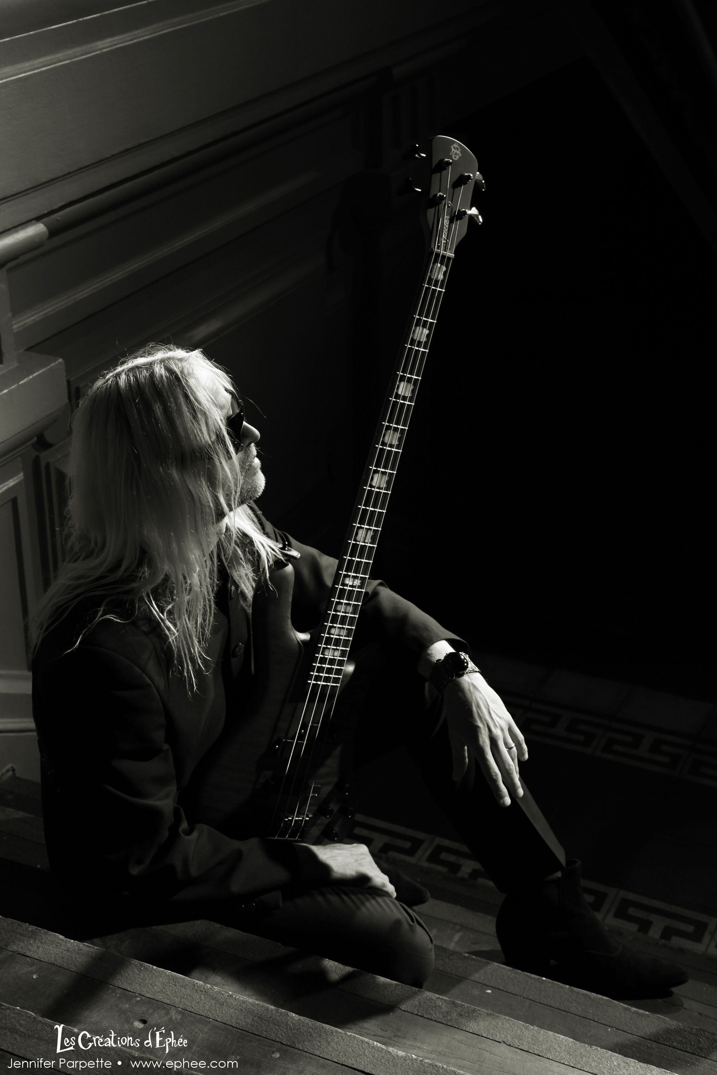 Nick Beggs, actual bassist of #kimwilde