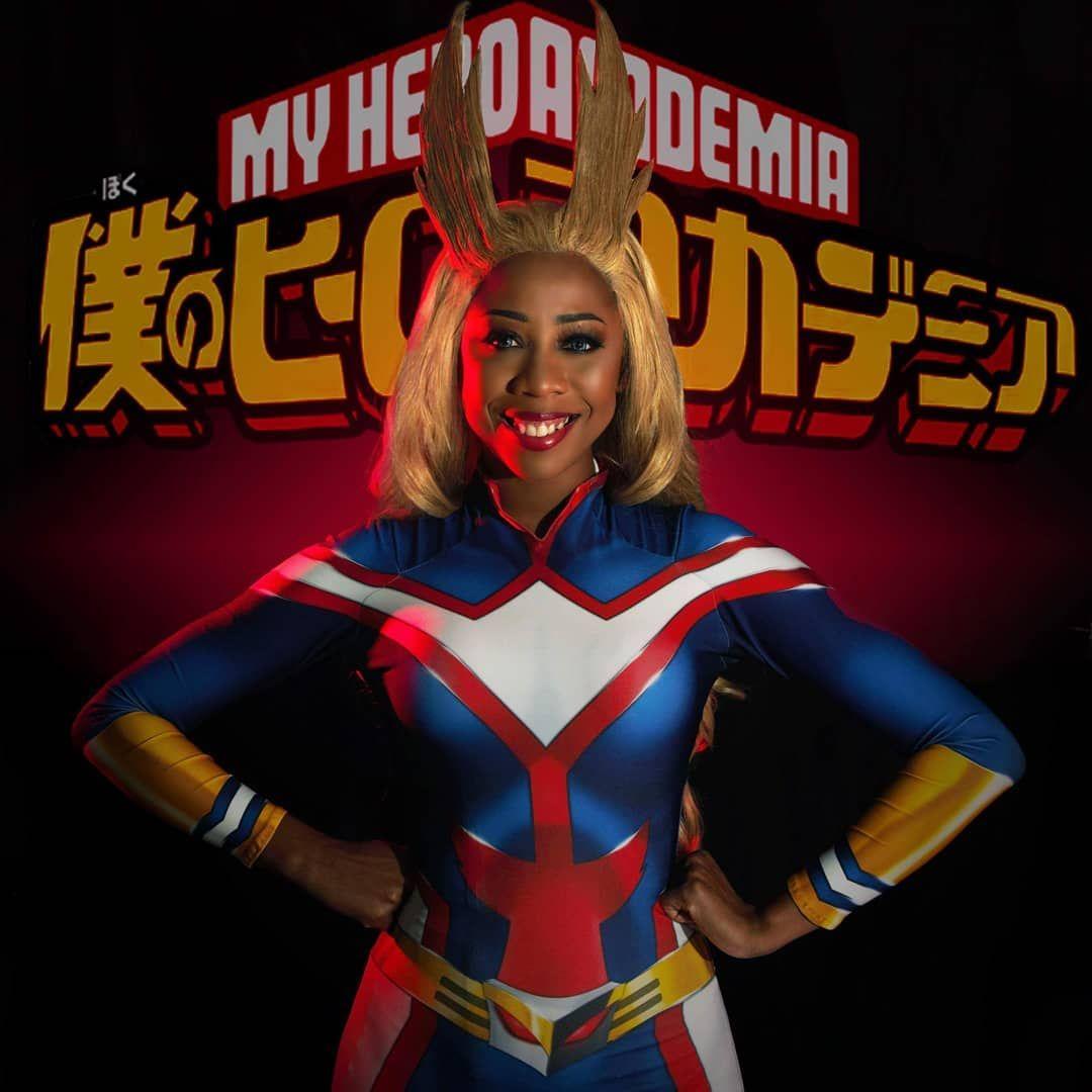 All Might genderswap, My Hero Academia - panteronacosplay   My hero  academia, Cosplay, Photo