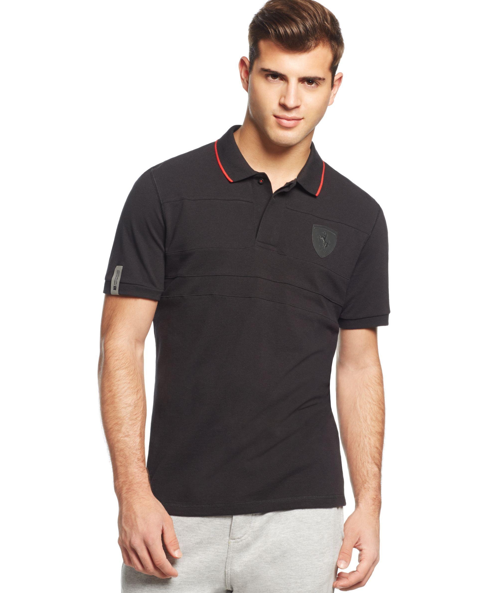 shirts s t prices on men big shirt puma shield compare ferrari